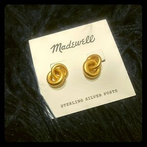 Madewell Gold earrings